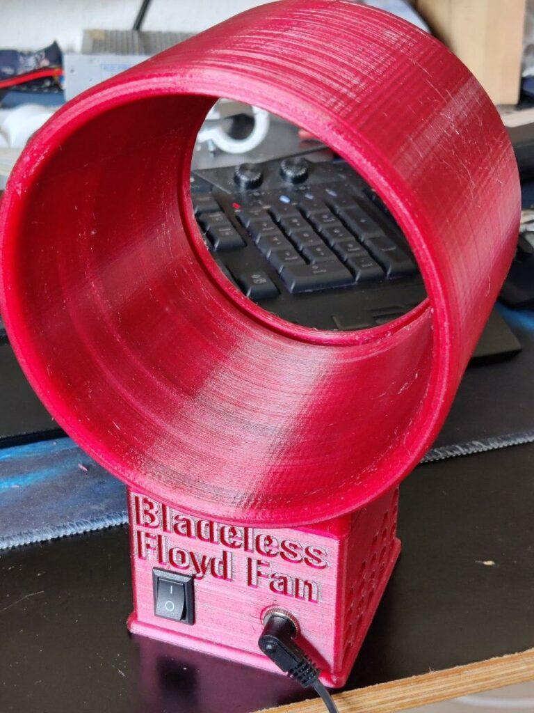 Bladeless Floyd Fan Nahaufnahme